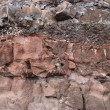 Stock Photo: Layers of LavRock Sediment