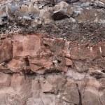 Постер, плакат: Layers of Lava Rock Sediment