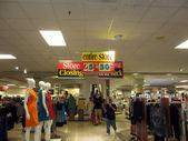 Wonder around Macy Store Closing sale — Stock Photo