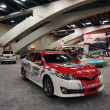 Постер, плакат: Camery Daytona 500 race car on display