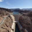 Stock Photo: Colorado River and Hoover Dam