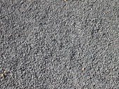 Lots of little gray gravel rocks — Stock Photo