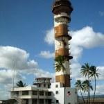Постер, плакат: Historic Ford Island aviation control tower at Pearl Harbor Hawa