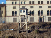 Tall Lookout Tower at San Quentin State Prison California — Stock Photo