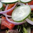 Stock Photo: Close-up of Classic Garden Salad