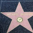Michael Jackson Star on Hollywood Walk of Fame in Hollywood — Stock Photo