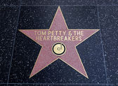 Tom Petty & the Heartbreakers star on Hollywood Walk of Fame — Stock Photo