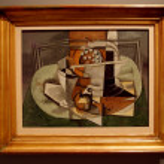 ������, ������: Le Tapis Vert 1929 Georges Braque