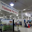 Постер, плакат: National Pet Walk booth at pet expo