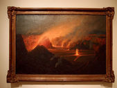 Volcano, 1915, Lionel Walden — Stock Photo