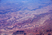 Aerial View of Southwest USA Country Side Landscape — Stock Photo