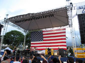 Rock Band, Jack's Mannequin, play at 4th of July Spectacular cel — Stock Photo