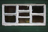 White wooden windows — Stock Photo