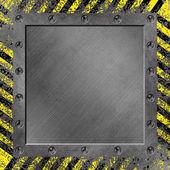 グランジ金属の背景 — ストック写真
