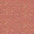 Brick Wall - Stock Vector