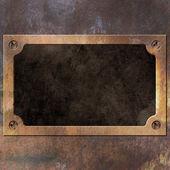 ржавые металлические фон — Стоковое фото