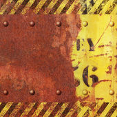 Rusty Metal Background — Stock fotografie