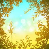 Floral bakgrund — Stockvektor