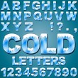 Ice Cold Letters — Stock Vector #35775827