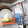 Clean dishware — Stock Photo