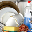 Stock Photo: Clean dishware