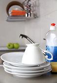 Louça limpa — Fotografia Stock