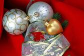 Chrismas dekorationer — Stockfoto