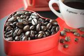 爱咖啡 — 图库照片