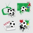 Royalty-Free Stock Vectorielle: Football icons