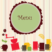 Menu background — Stock Vector