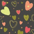 Background with hearts — Stock Vector #17372793
