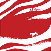 Zebra background - vector illustration — Stock Vector