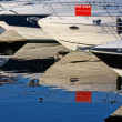 Motorboats and yachts for sale — Stock Photo #30792903