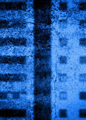 Blue city building texture — Stock Photo