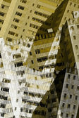 Abstract city buildings — Stock fotografie