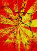 Knäckt starburst bakgrund — Stockfoto