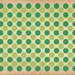 Green circles retro pattern background — Stock Photo