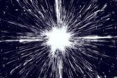 Modré a bílé grunge exploze — Stock fotografie