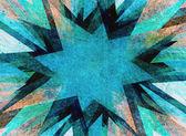 Blue grunge flash explosion — Stock Photo