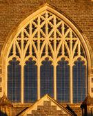 Süslü kilise pencere — Stok fotoğraf