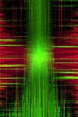 Grunge audio recording equalizer — Stock Photo