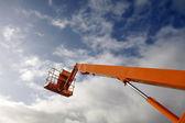 Hydraulic lift machine — Stock Photo