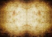 聚光灯 grunge 背景与划痕 — 图库照片