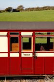Old railway carriage — Stockfoto