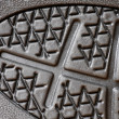 Rubber sole close up — Stock Photo