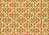 Orange retro pattern — Stock Photo