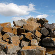 Stone blocks for construction — Stock Photo