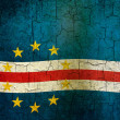 Grunge Cape Verde flag — Stock Photo
