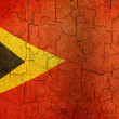 Grunge East Timor flag — Stock Photo