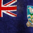 Stock Photo: Grunge Falkland Islands flag